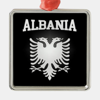 Albania Coat of Arms Christmas Ornament