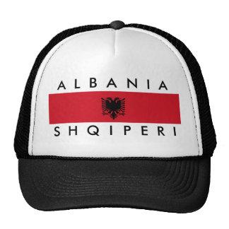 albania country long flag nation symbol name cap