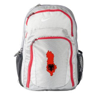 Albania Flag/Map Backpack