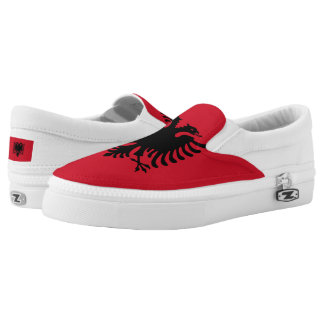 Albania Flag Printed Shoes