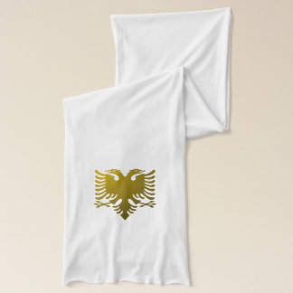Albanian two-headed eagle scarf