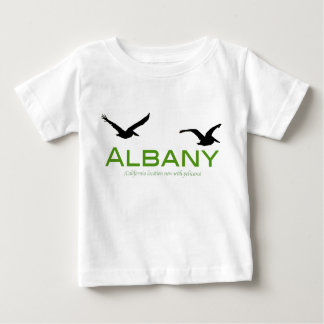 Albany, now with pelicans baby T-Shirt