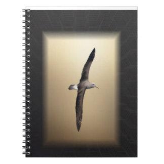 Albatross Bird off the coast of New Zealand Notebook