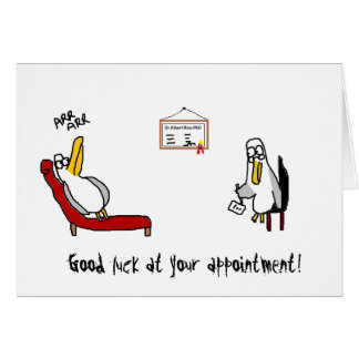 Albatross Psychiatrist Card