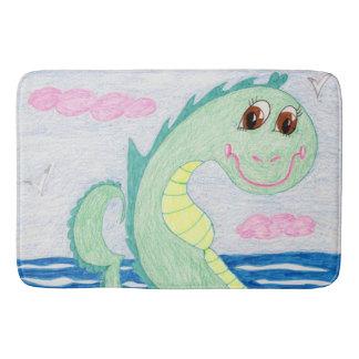 Albert The Sea Serpent Bath Mat