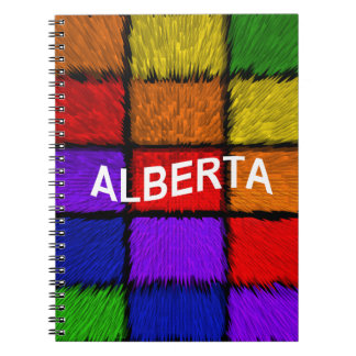 ALBERTA ( female names ) Notebook