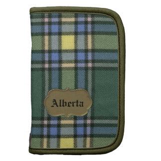 Alberta Original Tartan Mini Folio Planners