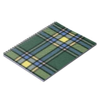 Alberta Tartan Spiral Notebook