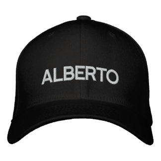 ALBERTO CUT DRCHOS.COM CUSTOMIZABLE PRODUCTS EMBROIDERED CAP