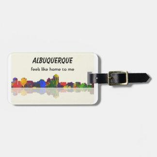 ALBUQUERQUE - Luggage Tag