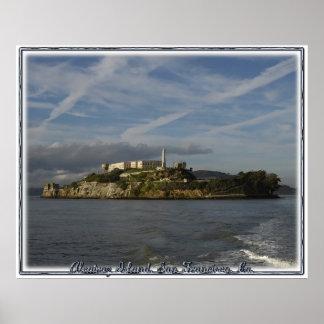 Alcatraz Island Prison Poster