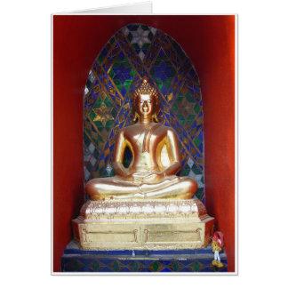 Alcove Buddha Card