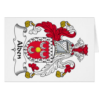 Alden Family Crest Card