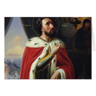 Alexander Nevsky, Duke of Novgorod Card