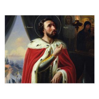 Alexander Nevsky, Duke of Novgorod Postcard