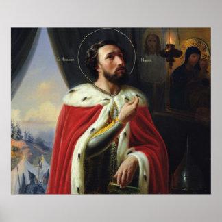 Alexander Nevsky, Duke of Novgorod Poster