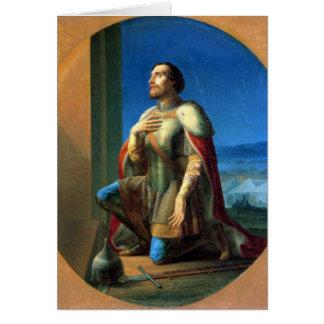 Alexander Nevsky Prince of Novgorod Card