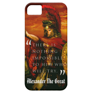 Alexander the great iPhone 5 covers