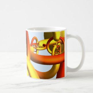 Alexander's Horned Sphere Mug - Warm Colors