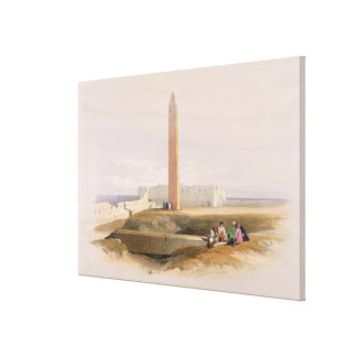 Alexandria, commonly called Cleopatra's Canvas Print