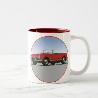 Alfa Romeo 1600 Giulla Spider Two-Tone Mug