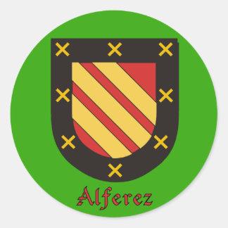 Alferez Family Shield Stickers