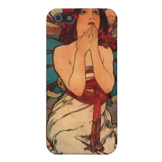 Alfons Mucha Monaco Monte Carlo iPhone 5/5S Cover