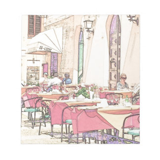 Alhergo Cafe Notepad