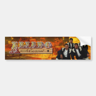 Aliado Musical Bumper Sticker