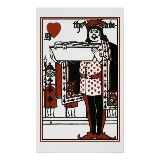 Alice In Wonderland; A Play. The Knave Of Hearts Poster