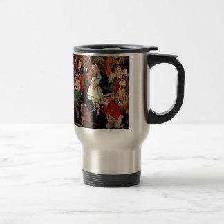 Alice in Wonderland and Jessie Willcox Smith Travel Mug