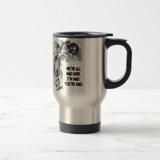 Alice in Wonderland Cheshire Cat Items Travel Mug