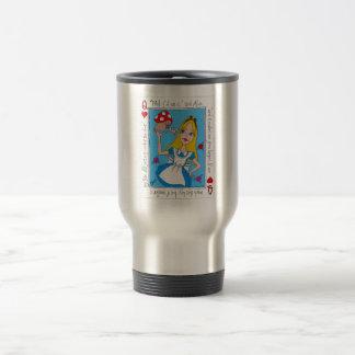 Alice In Wonderland, Eat Me! Travel Mug