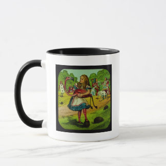 Alice in Wonderland Flamingo Croquet Mug