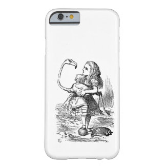 Alice in Wonderland flamingo croquet vintage Barely There iPhone 6 Case
