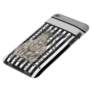 Alice In Wonderland King of Hearts Grunge iPod Case-Mate Cases