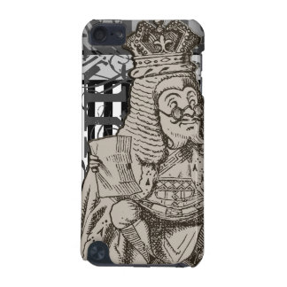 Alice In Wonderland King of Hearts Grunge iPod Touch 5G Case
