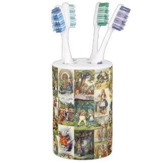Alice in Wonderland Toothbrush Holder