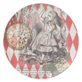 Alice s Evidence Party Plate