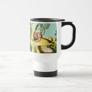 Alice & the Caterpillar Full Color Travel Mug