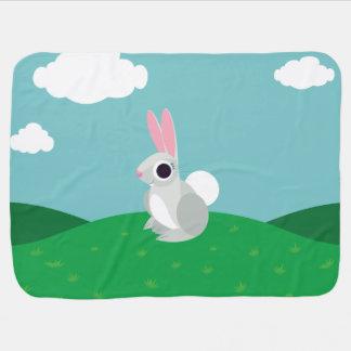 Alice the Rabbit Baby Blanket