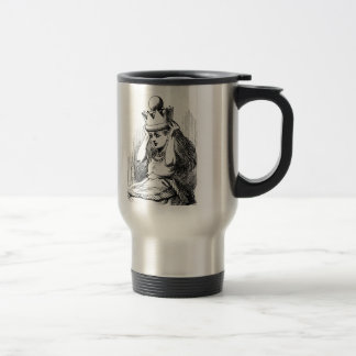 Alice with a Crown Travel Mug