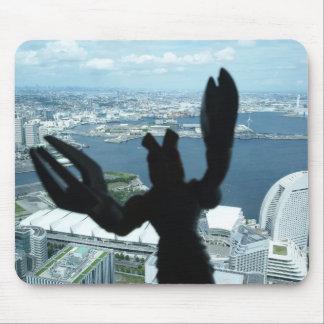 Alien attacks Japan Mousepad!! Mouse Pad