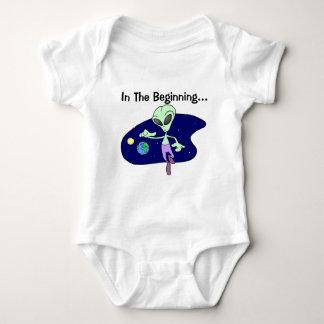 Alien Beginning Baby Bodysuit