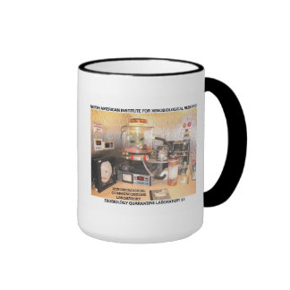 ALIEN COMMUNICATIONS LABORATORY RINGER MUG