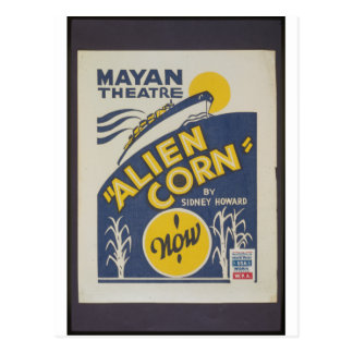 Alien Corn 1938 Postcard