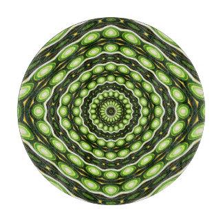 Alien Eggs Vortex Tornado green Cutting Board