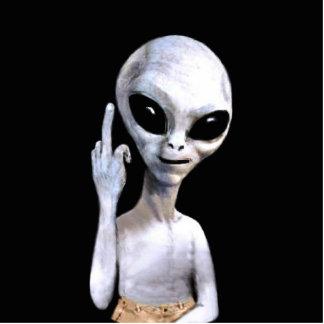 Alien Gesture - Standing Photo Sculpture