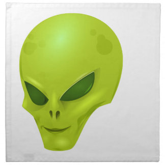 Alien Head Napkin