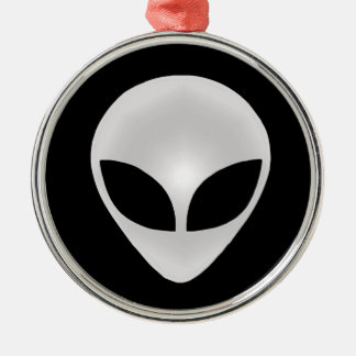 Alien Head Ornament